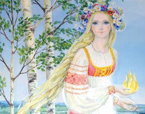Славянская Богиня Лада