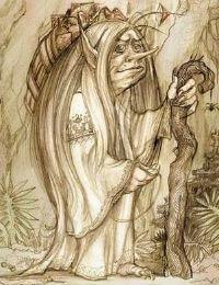 Кикимора – мифическое существо