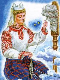 Славянская Богиня Макошь