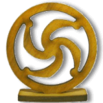 Символ славянского Бога Род