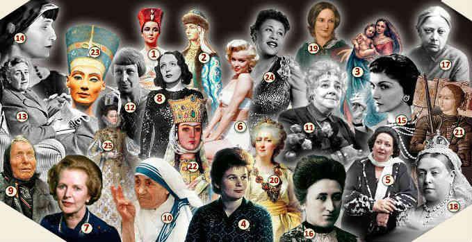 тест на эрудицию 25 великих женщин