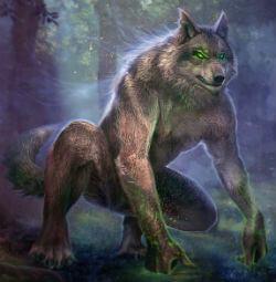 Волколак – мифическое существо славян