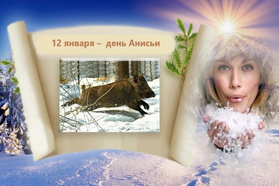 12 января – приметы, заговоры, поверья в день Анисьи