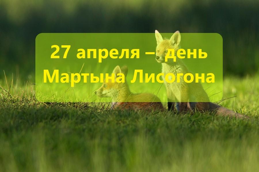 27 апреля – традиции, обряды и ритуалы, приметы в день Мартына Лисогона