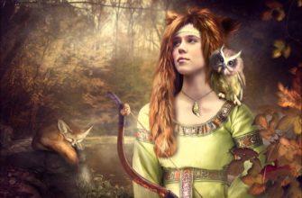 Девана – Славянская Богиня охоты