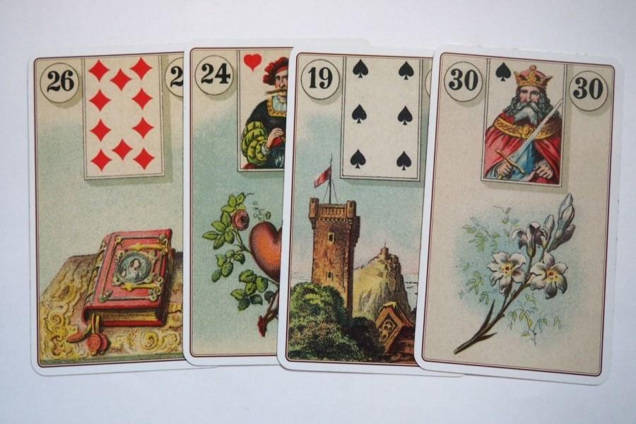 Гадания Ленорман на ближайшее будущее на 4 картах — расклады и значение карт