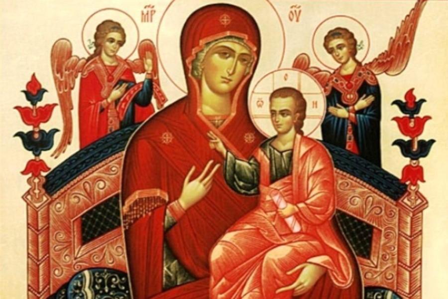 Сильные молитвы пред иконой Богородицы «Всецарица» об исцелении