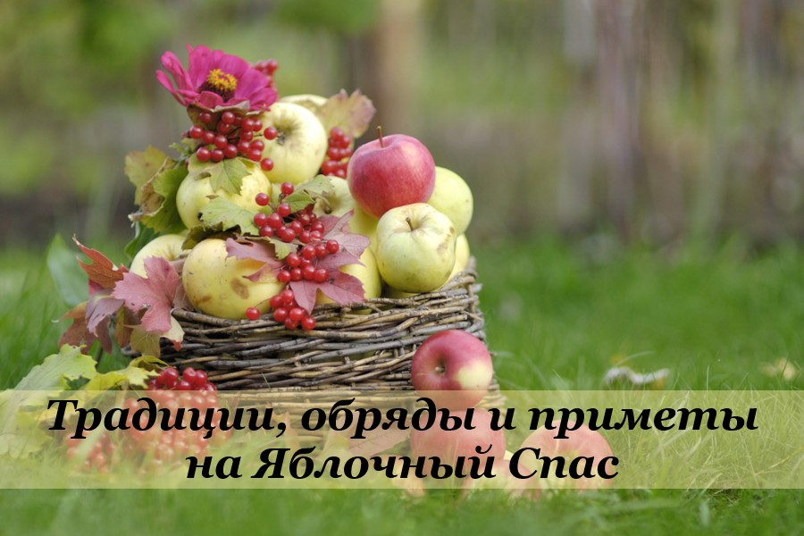 Традиции, обряды и приметы на Яблочный Спас