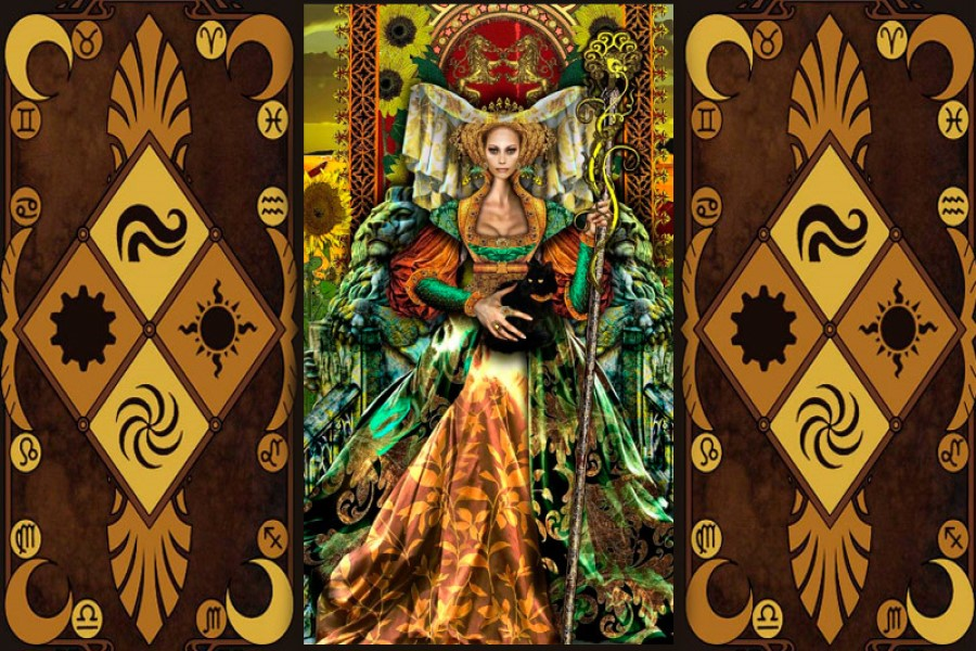Значение Королевы Жезлов в колоде Таро: сочетание с другими картами
