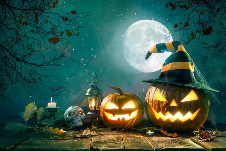 Онлайн гадание на желание в Хэллоуин на тыкве